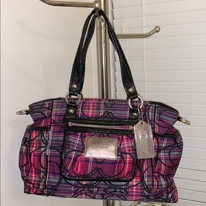 USED Coach Poppy Purse with Shoulder strap